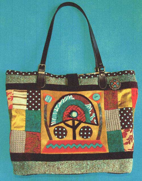 Kenyan Tote Bag Pattern - Click Image to Close