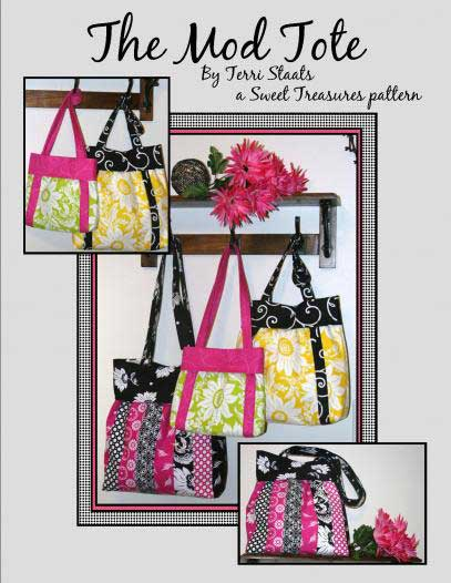 The Mod Tote Pattern Booklet - Click Image to Close