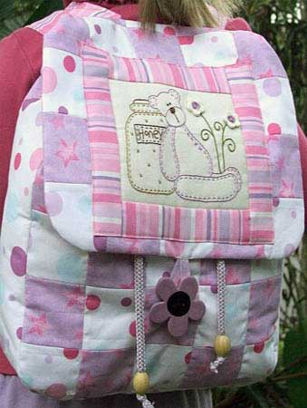 Teddy Backpack Pattern - Click Image to Close