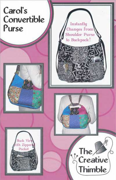 Carol's Convertible Purse Pattern - Click Image to Close