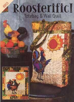 Roosterrific Tote Bag Pattern - Click Image to Close
