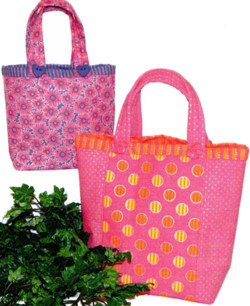 Let's Do Lunch Bag Pattern - Click Image to Close
