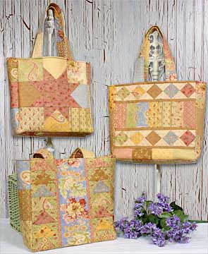 Charming Totes 4 Patterns - Click Image to Close