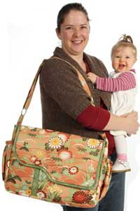 Me and My Baby Diaper Bag Pattern