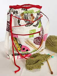 Woolly, Woolly Knit Or Crochet Bag