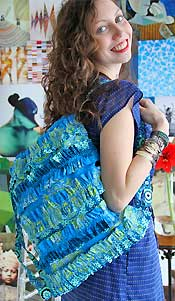 Wanderers Ruck Sack Bag Pattern by Amy Butler