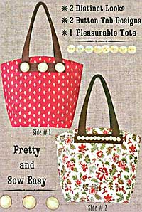 Double Your Pleasure Tote Bag Pattern