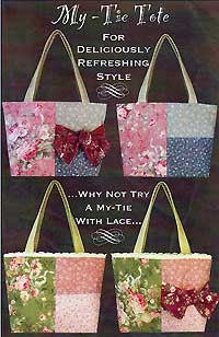 My-Tie Tote Bag pattern