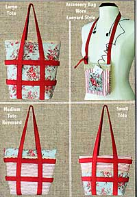 Tote-Ally Reversible Style Tote Pattern