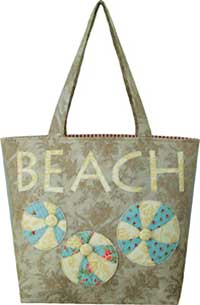 Vintage Beach Tote Pattern by Artful Offerings