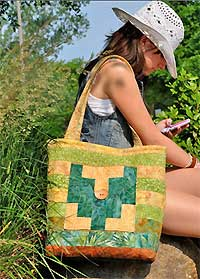 Scrappy Bali Tote Bag Pattern