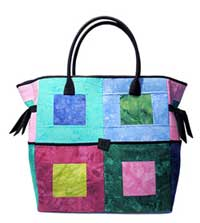 Block Party Bag Pattern