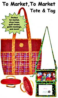 To Market, To Market Tote and Tag Pattern