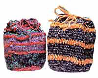Ditty - Knitted or Crochet Drawstring Ditties Pattern