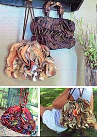 All Ruffled Up Handbag Pattern