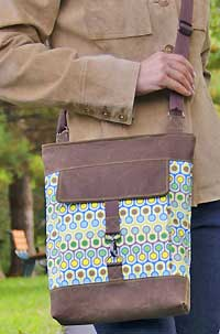 Metro Hipster Bag Pattern by Betz White