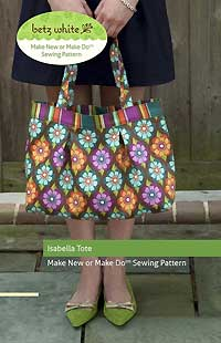 Isabella Tote Pattern by Betz White