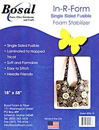 495S-18 Bosal In-R-Form Single Sided Fusible Foam Stabilizer