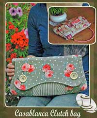 Casablanca Clutch Bag Pattern *