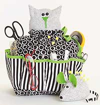 Sewing Catty & Pincushion Mouse Pattern