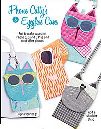 iPhone Catty Holder by Cotton Ginnys