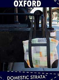 Oxford Around Town Tote Pattern