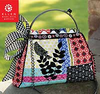 The Interchangeable 2 Bag Pattern Kit * - Silver Frame
