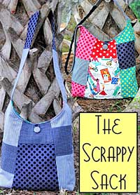 The Scrappy Sack Pattern *