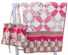 Kaylee Diaper Bag Pattern and Quilt
