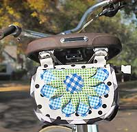 Solveig Bicycle Bag Pattern by Hemma Design *