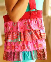 Ruffled Trio Bag Pattern