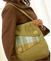 Country Courier Bag Pattern by Indygo Junction