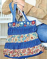 Gather All Around Bag Pattern