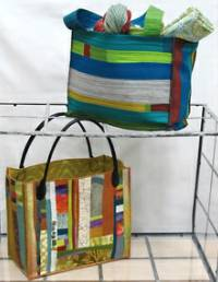 Briefcase Style Tote Pattern