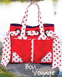 Bon Voyage Bag Pattern by Kati Cupcake