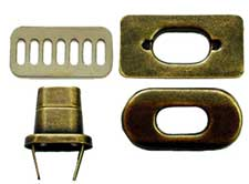Metal Purse Twist Locks