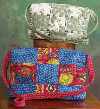 Boxy Patchwork Bag - Rotary Cut Border Bag Pattern