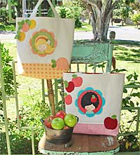 Toffee Apple and Marmalade Bag Pattern