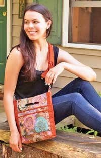 Cross Body Traveler Bag Pattern by Marlous Designs