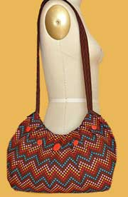 Ashley Pleated Hobo Bag Pattern *