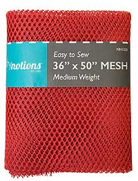 Medium Weight MESH Fabric - Red