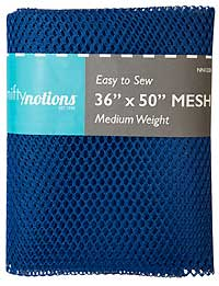 Medium Weight MESH Fabric - Royal Blue