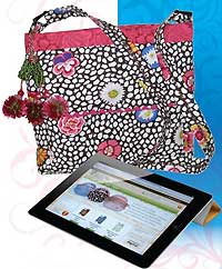 I'm An Apple Girl IPAD Bag Pattern