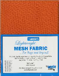 Lightweight MESH Fabric - Pumpkin