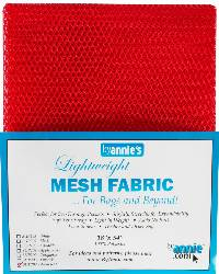 Lightweight MESH Fabric - Atom Red