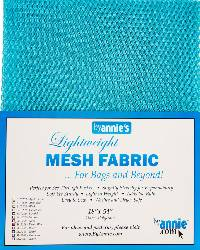 Lightweight MESH Fabric - Parrot Blue
