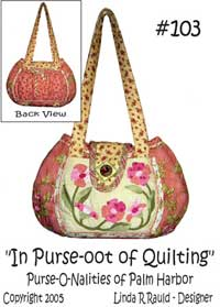 In Purse-oot of Quilting Purse Pattern *
