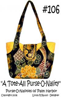 A Tote-All Purse-O-Nality Pattern *