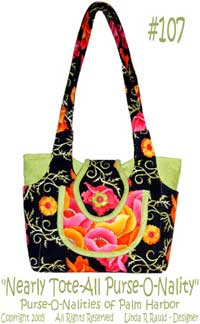 Nearly Tote-All Purse-O-Nality Bag Pattern *