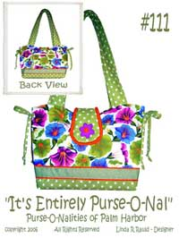 The Entirely Purse-O-Nal Handbag Pattern *